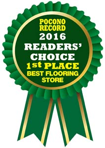 2016 Readers Choice 1st place best flooring store