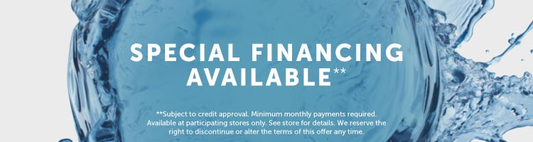 special financing available